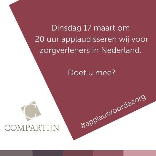 Doe mee aan #applausvoordezorg